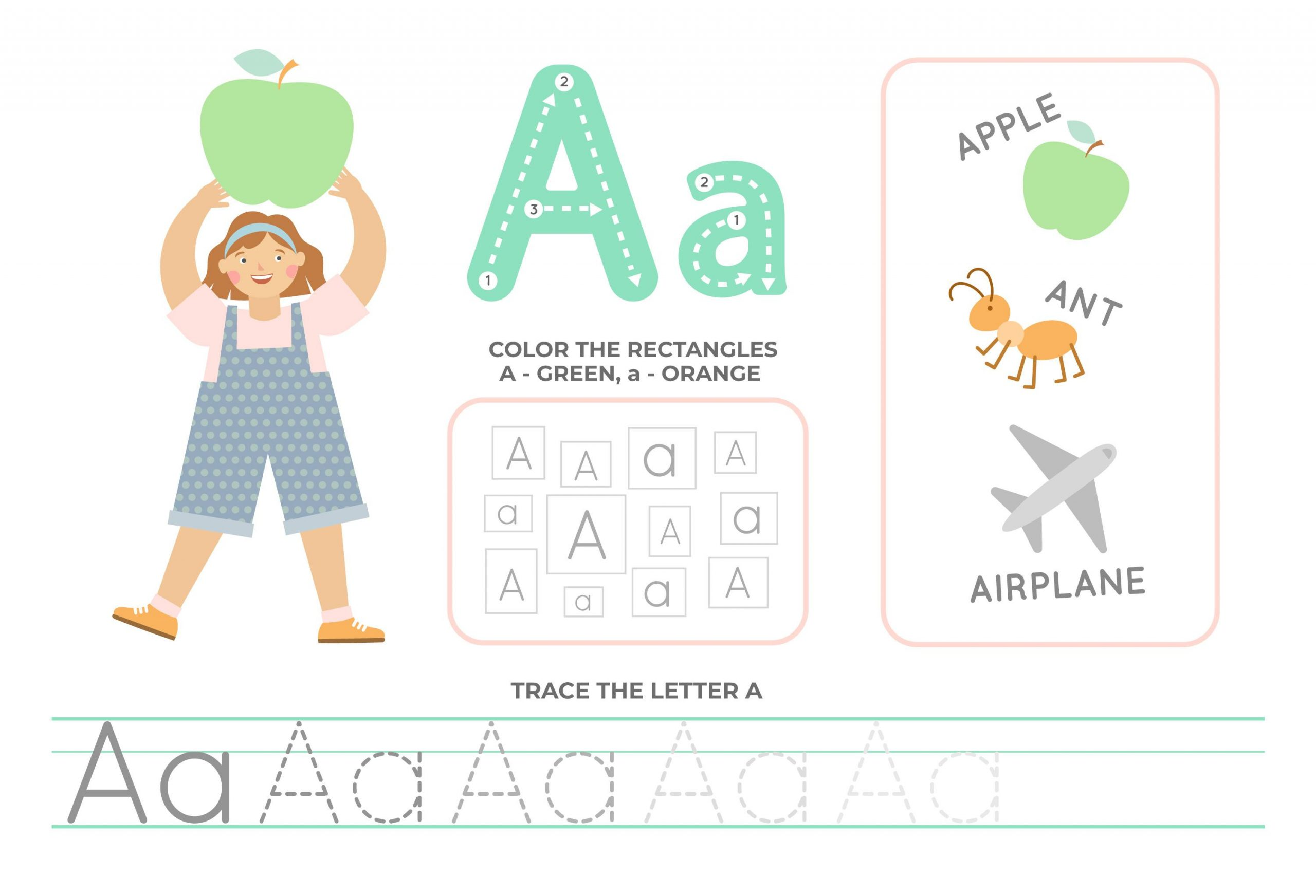 48 Letter A Activities to Engage & Educate your children