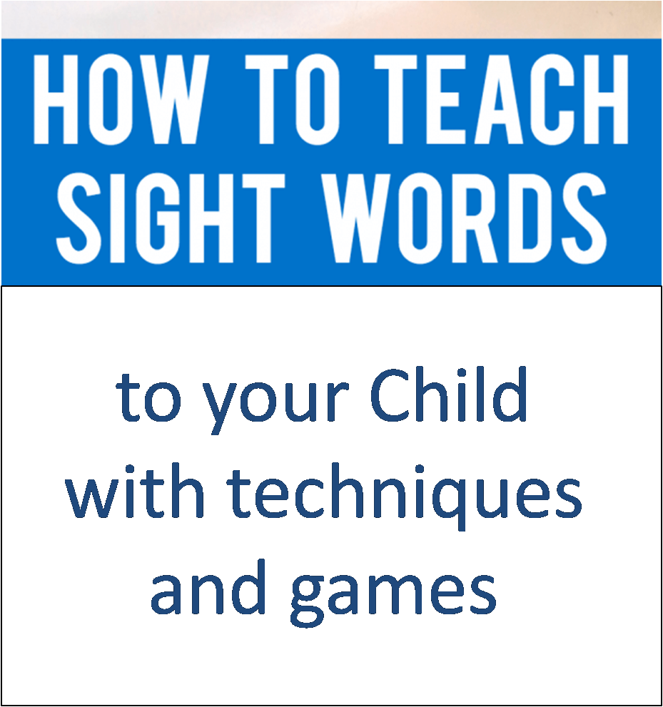 how to teach sight words with games and techniques